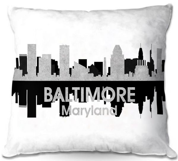 Unique Couch Throw Pillows Angelina Vick City Iv Baltimore Maryland Dianoche Designs