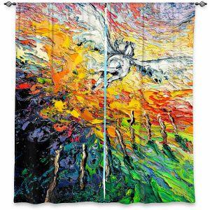 Decorative Window Treatments | Aja Ann - 8 of Wands | Tarot Pegasus Unicorn