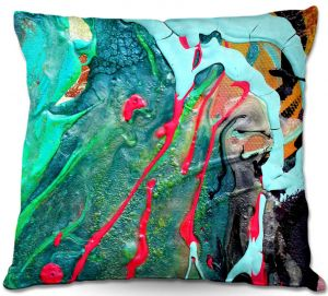 Throw Pillows Decorative Artistic | Aja Ann - Abstract Close Up IV