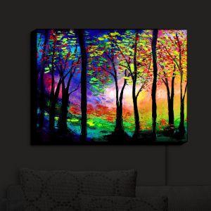 Nightlight Sconce Canvas Light   Aja Ann's Autumn Eve II