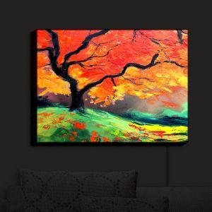 Nightlight Sconce Canvas Light | Aja Ann - Autumns Fire