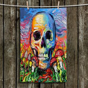 Unique Hanging Tea Towels | Aja Ann - Back to the Earth