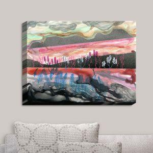 Decorative Canvas Wall Art | Aja Ann - Desert Scape