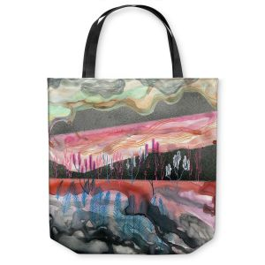 Unique Shoulder Bag Tote Bags | Aja Ann Dessert Scape