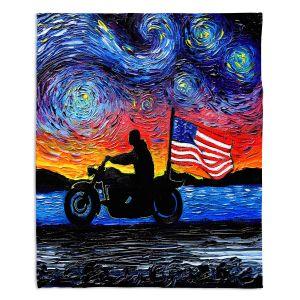 Decorative Fleece Throw Blankets   Aja Ann - Easy Rider   Dennis Hopper, Peter Fonda, Movie