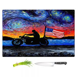 Artistic Kitchen Bar Cutting Boards | Aja Ann - Easy Rider | Dennis Hopper, Peter Fonda, Movie