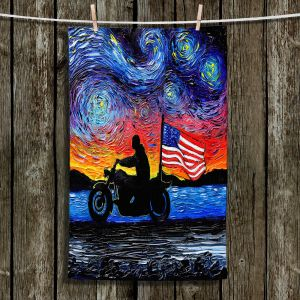 Unique Hanging Tea Towels | Aja Ann - Easy Rider