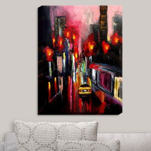 Decorative Canvas Wall Art   Aja Ann - Faces of the City 145