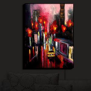 Nightlight Sconce Canvas Light | Aja Ann's Faces of the City 145