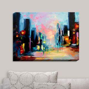 Decorative Canvas Wall Art   Aja Ann - Faces of the City 148
