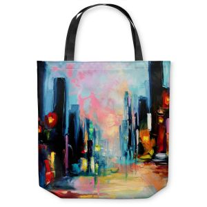 Unique Shoulder Bag Tote Bags | Aja Ann Faces of the City 148