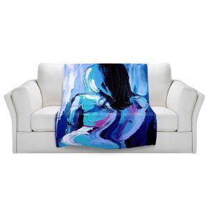 Artistic Sherpa Pile Blankets | Aja Ann Femme 170