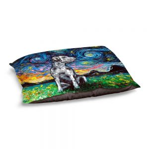 Decorative Dog Pet Beds | Aja Ann - Great Dane | Starry Night Dog Animal