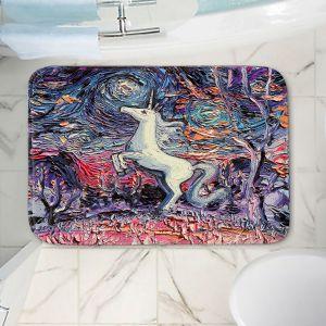 Decorative Bathroom Mats | Aja Ann - Im Alive | Unicorn