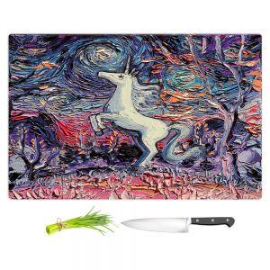 Artistic Kitchen Bar Cutting Boards   Aja Ann - Im Alive   Unicorn
