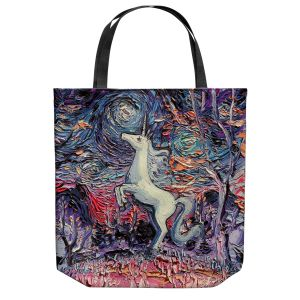Unique Shoulder Bag Tote Bags | Aja Ann - Im Alive | Unicorn