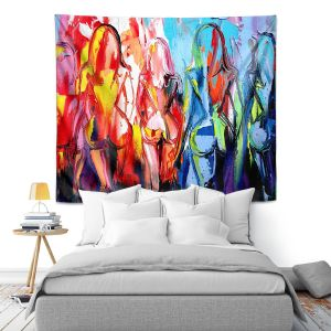 Artistic Wall Tapestry | Aja Ann In the Company of Strangers