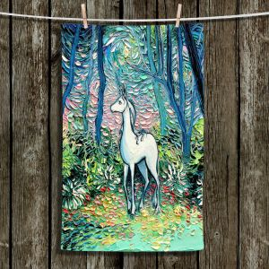 Unique Bathroom Towels | Aja Ann - Shadow Forest
