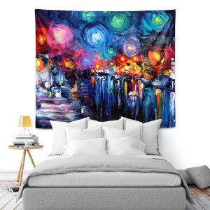 Artistic Wall Tapestry | Aja Ann Midnight Harbor xix