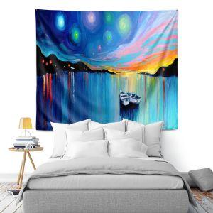 Artistic Wall Tapestry | Aja Ann Midnight Harbor xxxii