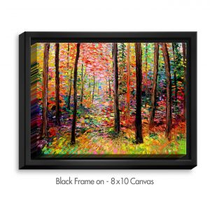 Decorative Canvas Black Frame 40x30 from DiaNoche Designs by Aja Ann - Prisms