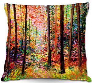 Decorative Outdoor Patio Pillow Cushion   Aja Ann - Prisms