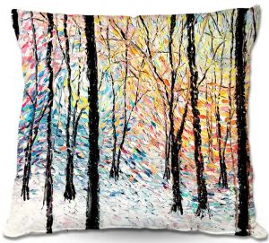 Throw Pillows Decorative Artistic   Aja-Ann's Refraction