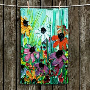 Unique Hanging Tea Towels | Aja Ann - Stories From a Field Act lxi | Flowers Garden