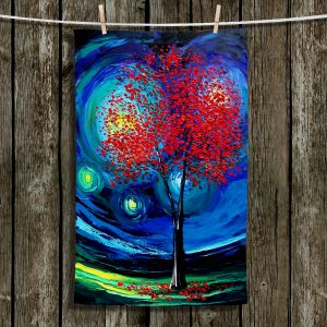 Unique Hanging Tea Towels | Aja Ann - Story of the Tree xli | Trees Nature