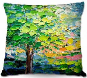 Decorative Outdoor Patio Pillow Cushion   Aja Ann - Story of the Tree xxvii