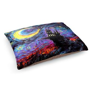 Decorative Dog Pet Beds | Aja Ann - Haunting van Gogh | Harry Potter, Starry Night van Gogh