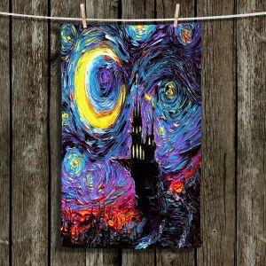 Unique Bathroom Towels   Aja Ann - Haunting van Gogh