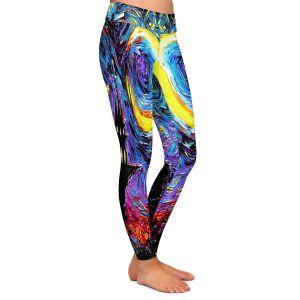 Casual Comfortable Leggings | Aja Ann - Haunting van Gogh