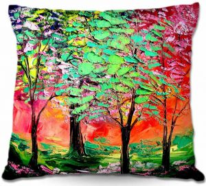 Decorative Outdoor Patio Pillow Cushion   Aja Ann - Thoughts of Spring