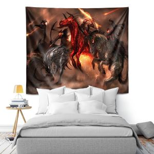 Artistic Wall Tapestry | Alex Ruiz Four Horsemen