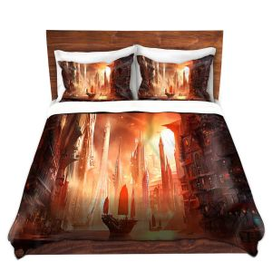 Artistic Duvet Covers and Shams Bedding | Alex Ruiz - Future Harbor Sailing