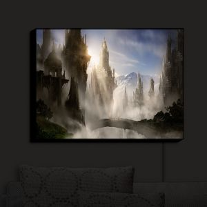 Nightlight Sconce Canvas Light | Alex Ruiz's Fantasy Ruins