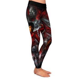 Casual Comfortable Leggings | Alex Ruiz The Thriller Michael Jackson