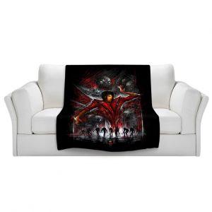 Artistic Sherpa Pile Blankets   Alex Ruiz The Thriller Michael Jackson