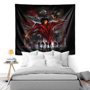 Artistic Wall Tapestry | Alex Ruiz The Thriller Michael Jackson