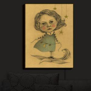 Nightlight Sconce Canvas Light   Amalia K.'s Adora in the Sky