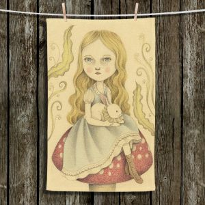 Unique Bathroom Towels | Amalia K. - Alice Contemplating