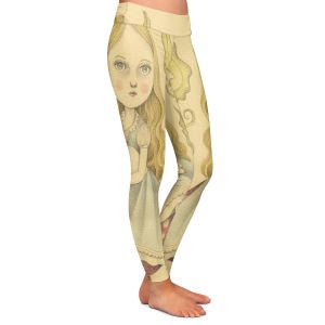Casual Comfortable Leggings | Amalia K. Alice Contemplating