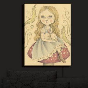 Nightlight Sconce Canvas Light | Amalia K.'s Alice Contemplating