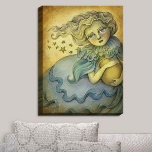 Decorative Canvas Wall Art | Amalia K. - Andromeda the Stars Keeper