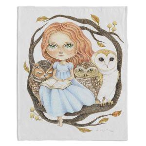Decorative Fleece Throw Blankets   Amalia K. - Autumn Tales
