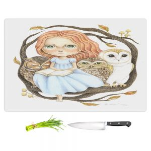 Artistic Kitchen Bar Cutting Boards   Amalia K. - Autumn Tales