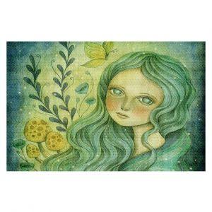 Decorative Floor Coverings | Amalia K. Butterfly Queen