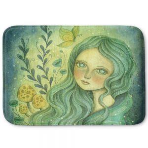 Decorative Bathroom Mats | Amalia K. - Butterfly Queen