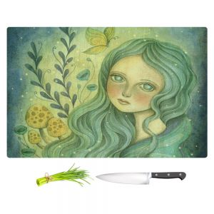 Artistic Kitchen Bar Cutting Boards | Amalia K. - Butterfly Queen